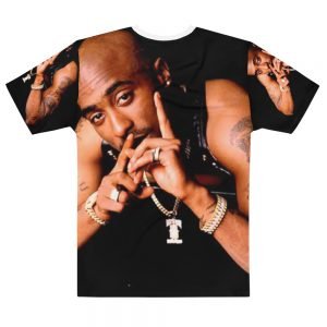 2Pac Death Row Fingers Up T-shirt